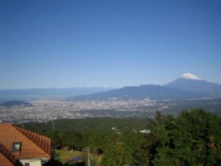 伊豆高原からの富士山